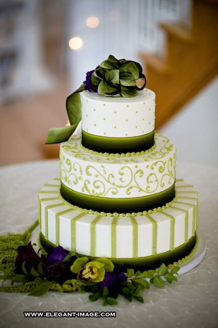Green White And Black Cake Wedding Ideas Pinterest