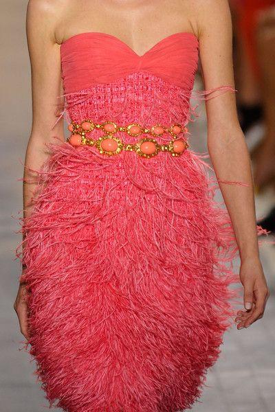 Giambattista Valli. hot pink!