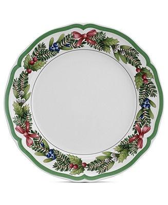 Villeroy boch french garden noel christmas dinnerware - Villeroy boch vajillas ...