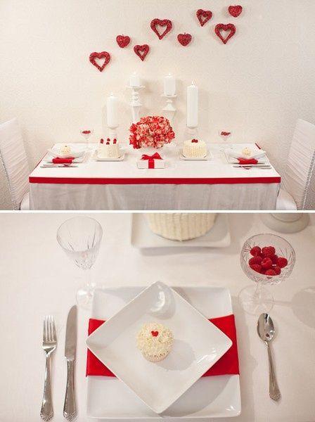 valentine red desserts