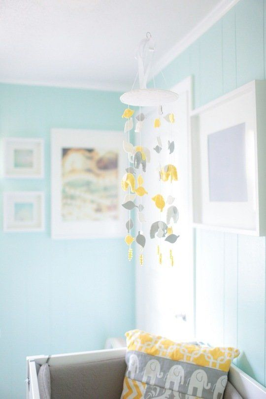 Will's Yellow & Aqua Abode