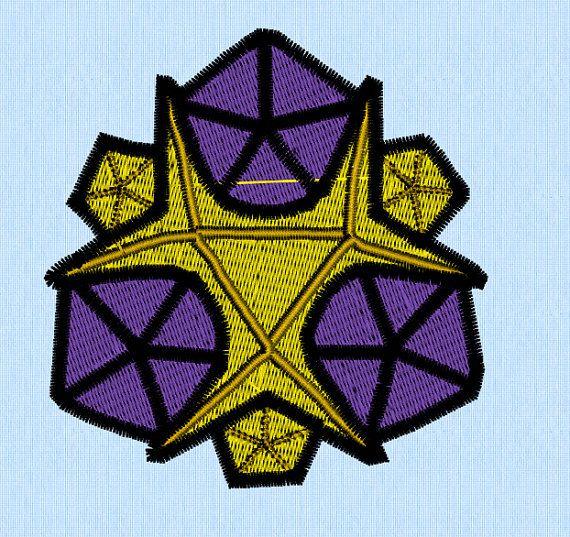 Zelda Water Spirit Stone Machine Embroidery Design