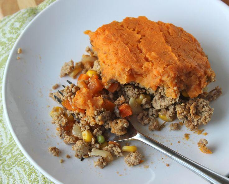 Sweet Potato Turkey Shepherd's Pie   Yum!!   Pinterest