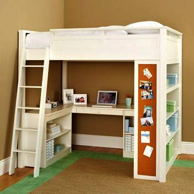 Pottery Barn Sleep Study Loft Kid S Room Pinterest