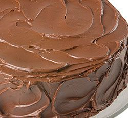 Luscious Chocolate Cake with Chocolate Whipped Cream Frosting
