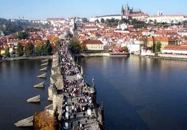 Praga, a Pérola do Oriente.