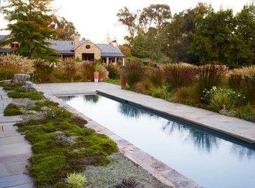 South African Style in Woodside - farmhouse - landscape - san francisco - Gardenart Group