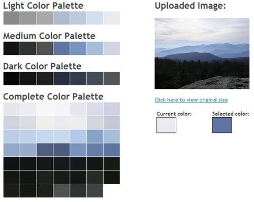 Color Palette Generator Tutorials Pinterest
