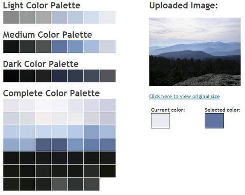 Color Palette Generator Tutorials Pinterest