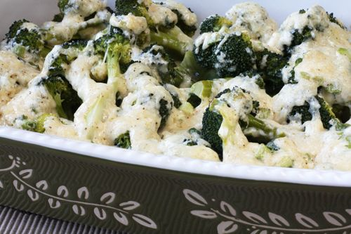 ... and parmesan broccoli gratin with swiss and parmesan broccoli and blue
