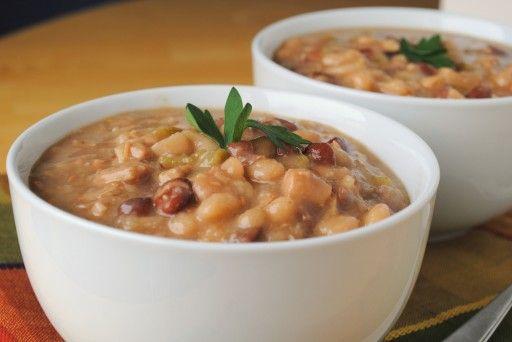 White Bean Turkey Chili Stew | Turkey | Pinterest