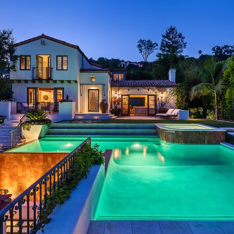 Riviera Residence - mediterranean - Pool - Santa Barbara - Josh Blumer :: AB design studio, inc.
