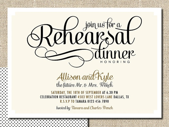 Diy Rehearsal Dinner Invitations absolutely amazing ideas for your invitation example