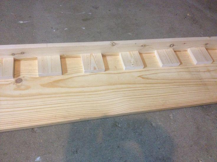 garage door dentil trim woodwork home improvement ideas