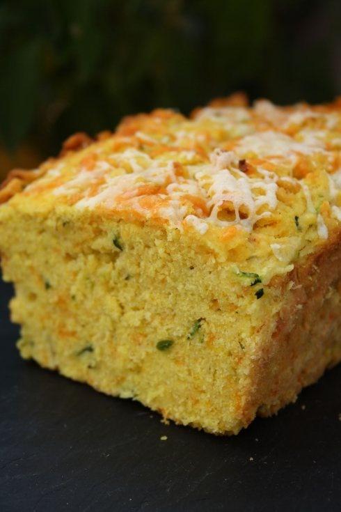 Zucchini Green Chili Cornbread | Recipes | Pinterest