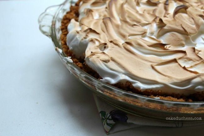 Key Lime Pie with Meringue Topping   Pastry, Pavlova and Pies~   Pint ...