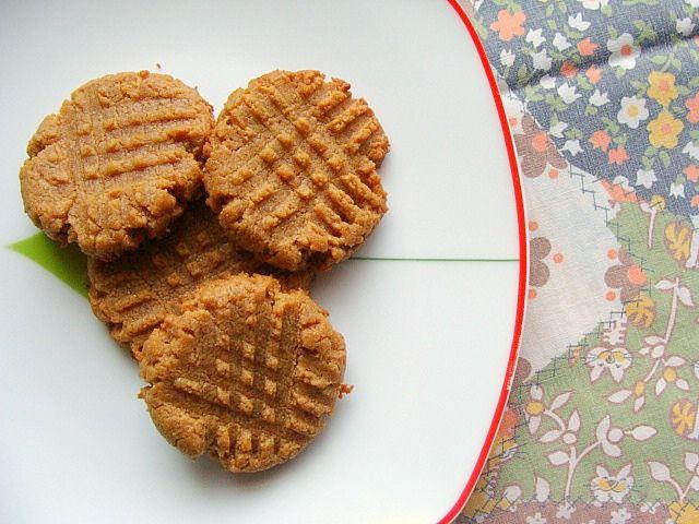 Vegan Almond Butter Crunch Cookies | Cookies | Pinterest