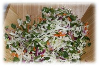 Meat Free Monday: Lime & Jalapeno Slaw — Everyday Road to Healthy