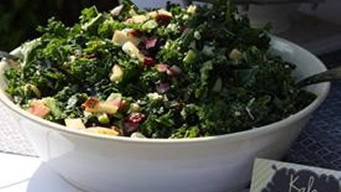 Apple, Kale, and Feta Salad | Recipe