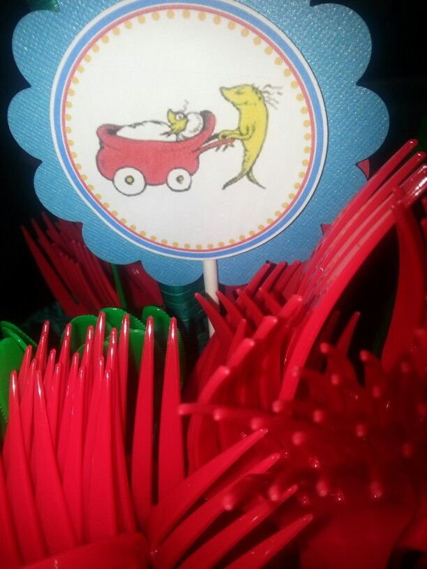cat in the hat decorations baby shower