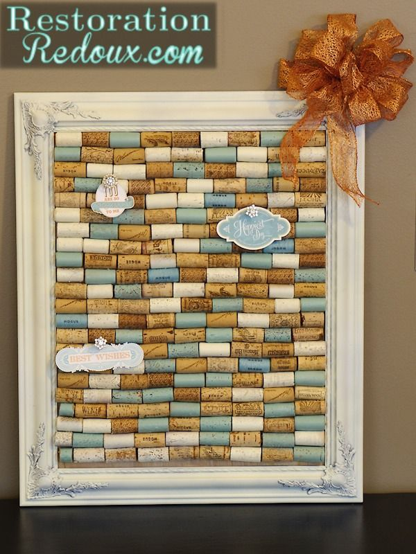 Great ideas for diy wine cork art because i like it for Cork art ideas