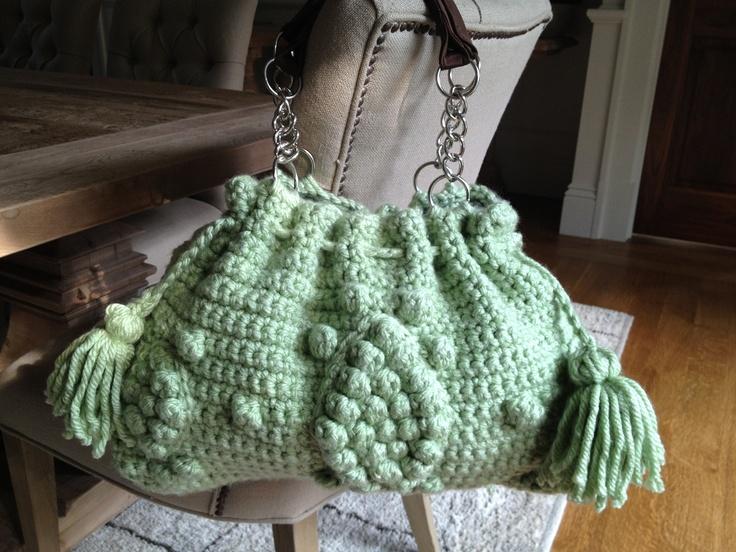 Crochet Designer Bags : Designer style Handbag Crochet Purses, Bags, iPhone covers and Tote ...