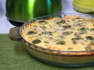 Fiddlehead and Pancetta Quiche | Food | Pinterest