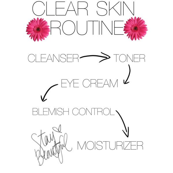 skin care routine :) morning and night