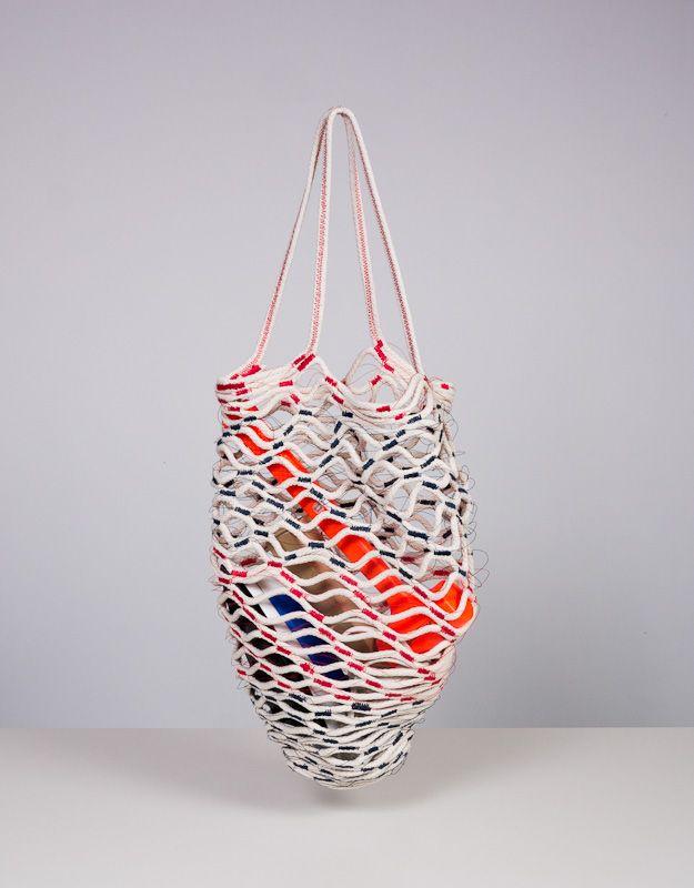 Crochet Net Bag : Doug Johnston - Net Bag bag - knit, crochet... Pinterest