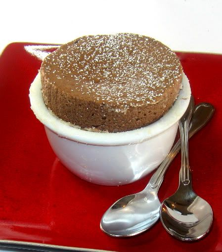 ... Bite: Individual Chocolate Soufflés for Bittersweet Chocolate Day