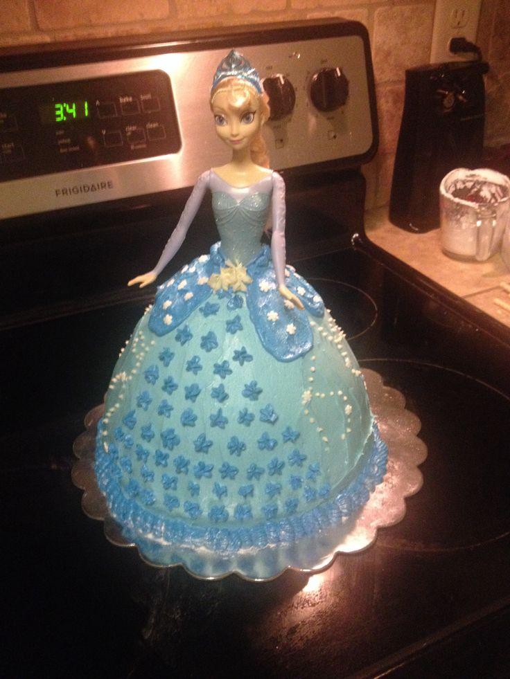 Elsa Frozen Birthday Cake Ideas Image Inspiration of Cake and