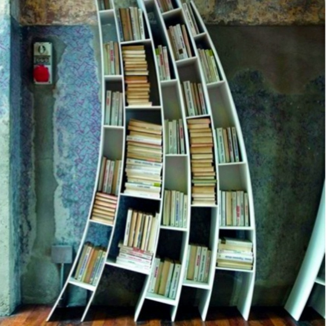 Funky Book Shelves 640 x 640