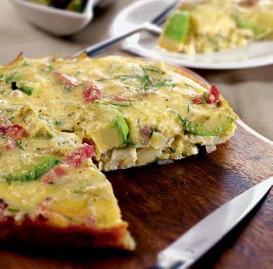 Avocado, Pepper, and Tomato Frittata: http://italianfood.about.com/od ...