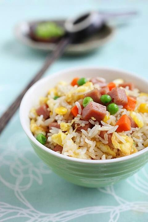 Spam fried rice | Recipes | Pinterest