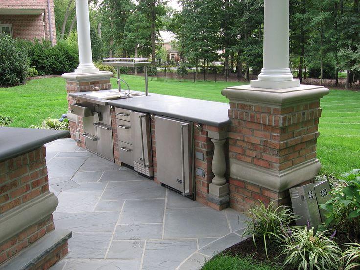Outdoor kitchen design ideas the great outdoors pinterest for Outdoor kitchen ideas pinterest
