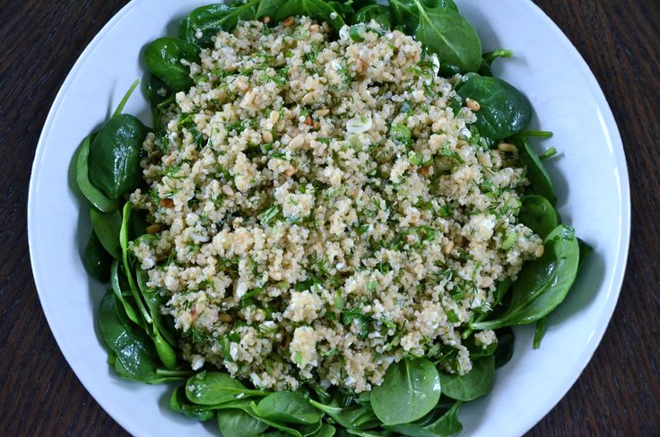 Spinach and Quinoa Salad with Feta and Dill - 3 Things to make you ...