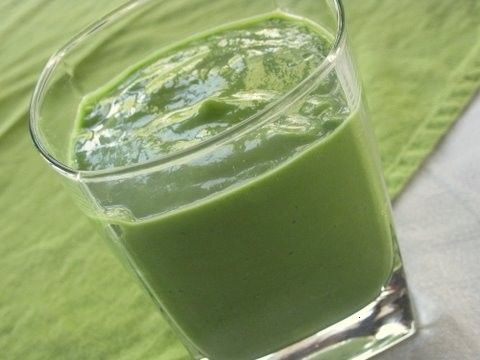 "Green ""creamsicle"" smoothie 