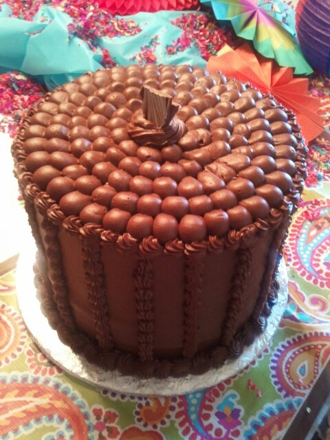 Mile High Chocolate cake by BellaRosa | The Cake Boutique | Pinterest