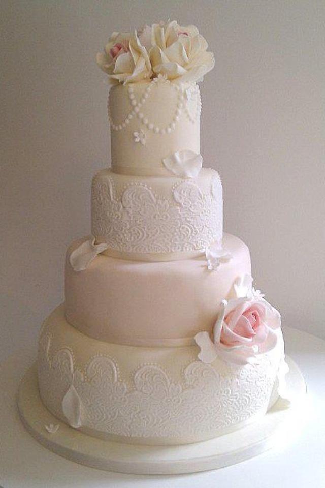Pastel Wedding Cake Futureeee Wedding Day Pinterest