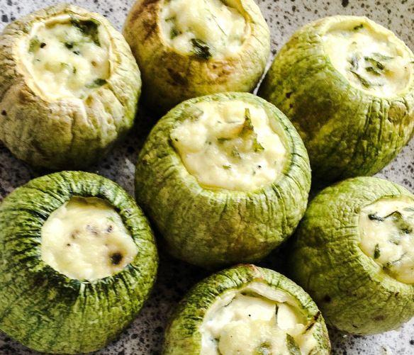 Zucchini Rolls Stuffed With Ricotta Recipe — Dishmaps