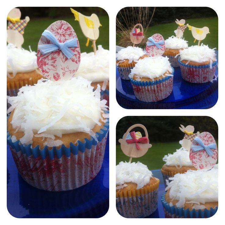 Skinny Coconut Cupcakes - Just 4PP each! Perfect for Easter and summer ...