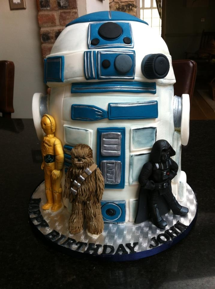 Star Wars cake. This would be SO cool! I'm sure I can just whip this up for Abram.