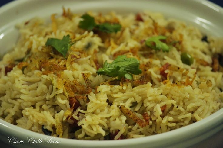 Vegetable Pulao | Choco Chilli Recipes | Pinterest