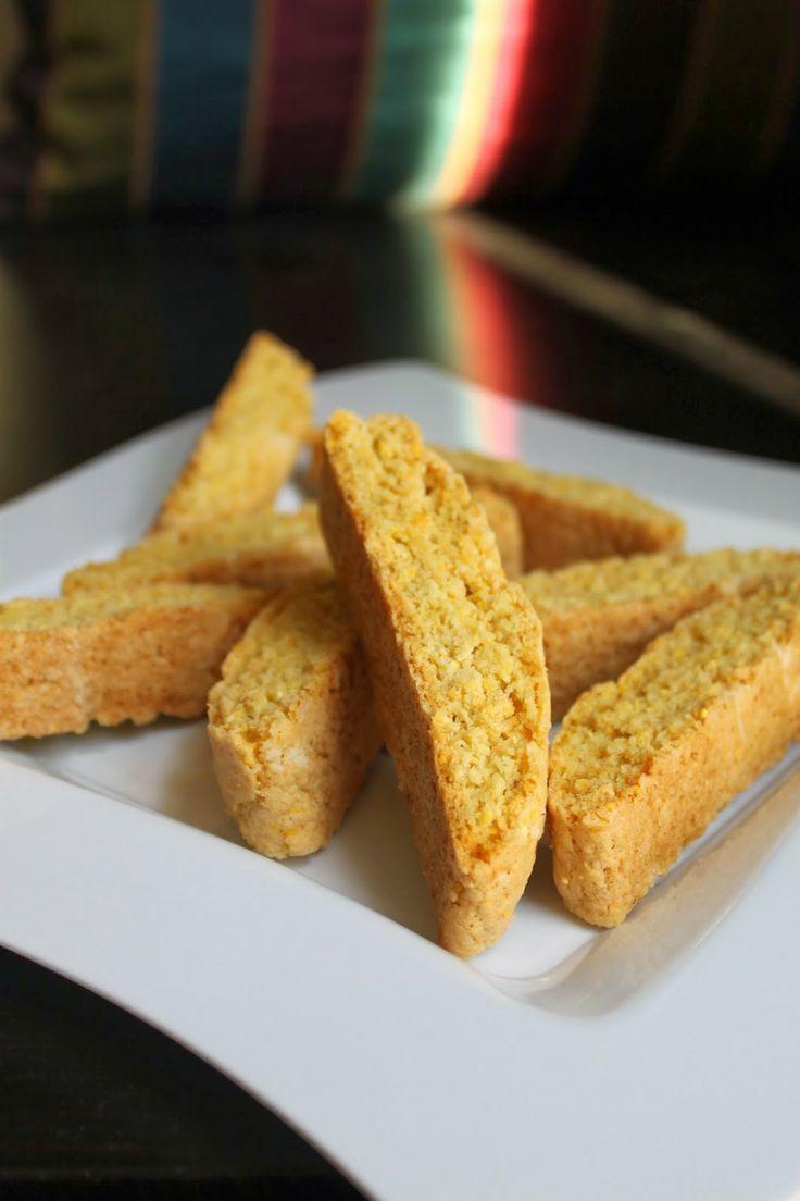 Cornmeal Biscotti | Life's Too Short to Skip Dessert | Pinterest