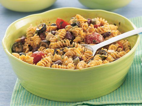 Mexican Macaroni Salad - Enjoy this colorful pasta salad featuring ...