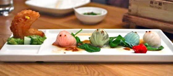 Pac Man Shrimp Dumplings at RedFarm | NewYorkCity Eats! | Pinterest