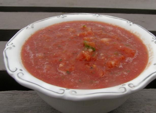 "... restaurants make their salsa — with CANNED tomatoes."" -JanuaryBride"