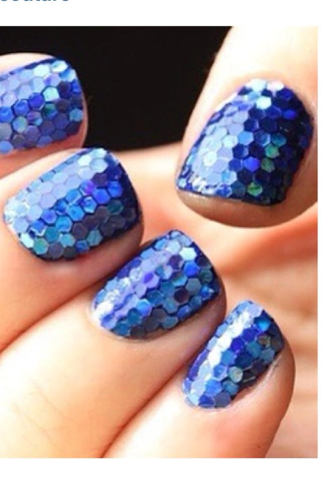fun bright sparkle nail design! | Nail-tastitc! | Pinterest