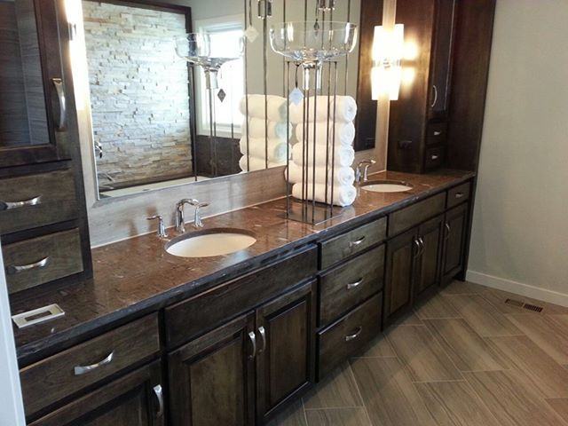Pin by the design gourmet on stone natural granite for Master bathroom granite