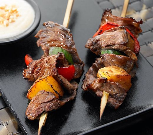 Indonesian Beef Satay #beef http://www.rumbameats.com/recipe.php?id=18 ...